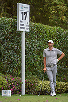 Dustin Johnson (USA) waits to tee off on 17 during round 2 of the World Golf Championships, Mexico, Club De Golf Chapultepec, Mexico City, Mexico. 2/22/2019.<br /> Picture: Golffile | Ken Murray<br /> <br /> <br /> All photo usage must carry mandatory copyright credit (© Golffile | Ken Murray)