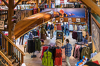 The Orvis flagship store, Manchester, Vermont, USA.