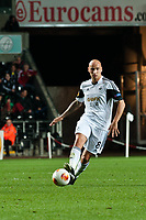 Thursday 24 October 2013  <br /> Pictured: Jonjo Shelvey of Swansea <br /> Re:UEFA Europa League, Swansea City FC vs Kuban Krasnodar,  at the Liberty Staduim Swansea