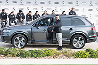 Dani Ceballos of Real Madrid CF poses for a photograph after being presented with a new Audi car as part of an ongoing sponsorship deal with Real Madrid at their Ciudad Deportivo training grounds in Madrid, Spain. November 23, 2017. (ALTERPHOTOS/Borja B.Hojas) /NortePhoto.com NORTEPHOTOMEXICO