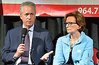College Signing Day 2015 at the KFC Yum! Center.<br /> Louisville Mayor Greg Fischer, JCPS Superintendent Donna Hargens