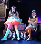 Leah Lane and Hui-Shan Yong during The Dare Tactic production of 'A Roller Rink Temptation' at  WOW Cafe on May 25, 2018 in New York City.