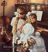 CHILDREN, KINDER, NIÑOS, paintings+++++,USLGSKPROV8,#K#, EVERYDAY ,Sandra Kock, victorian