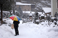 Saltzburg - Austria,  St Peters Cementry in the snow