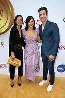 WEST HOLLYWOOD, CA - JANUARY 5: Emmanuelle Chriqui, Jenna Dewan, Matt Bomer, at the 6th Annual Gold Meets Golden Brunch at The House on Sunset in West Hollywood, California on January 5, 2019. <br /> CAP/MPI/FS<br /> &copy;FS/MPI/Capital Pictures