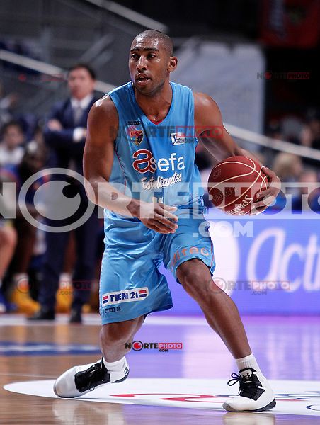Asefa Estudiantes' Juan Carlos Navarro during Liga Endesa ACB match.January 13,2012. (ALTERPHOTOS/Acero)