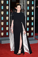 Rebecca Fergusson<br /> arriving for the BAFTA Film Awards 2018 at the Royal Albert Hall, London<br /> <br /> <br /> ©Ash Knotek  D3381  18/02/2018