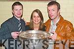 SOCIAL: Enjoying the John Mitchels GAA Social at their Clubhouse in Tralee on Saturday night.
