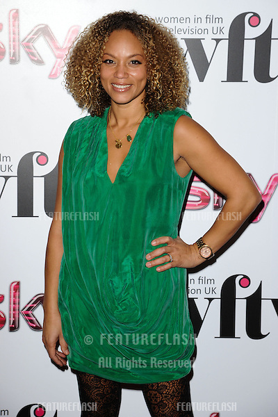 Angela Griffin arriving for the Women in Film and Tv Awards 2012 at the Park Lane Hilton, London. 07/12/2012 Picture by: Steve Vas / Featureflash