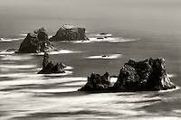 Sea stacks off Samuel H. Boardman State Scenic Corridor. Oregon