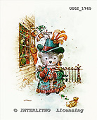 GIORDANO, CHRISTMAS ANIMALS, WEIHNACHTEN TIERE, NAVIDAD ANIMALES, Teddies, paintings+++++,USGI1760,#XA#