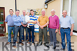 Past pupils of Scoil Ide, Curranes Castleisland, Mike Mangan,Jim O'Connor, Seamus Conway, Pat McMahon, Devin McMahon, Florence McAuliffe, Tom O'Sullivan and Mike Lynch at the 50th Celebration held at the school on Thurday