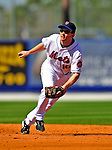 7 March 2009: New York Mets' infielder Andy Green in action during a Spring Training game against the Washington Nationals at Tradition Field in Port St. Lucie, Florida. The Nationals defeated the Mets 7-5 in the Grapefruit League matchup. Mandatory Photo Credit: Ed Wolfstein Photo