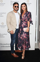 Ryan Thomas and Lucy Mecklenburgh at the Bloomsbury Street Kitchen Restaurant Launch Party in London on August 8th 2019<br /> CAP/ROS<br /> ©ROS/Capital Pictures