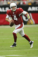 10/23/11 Glendale, AZ: Arizona Cardinals quarterback Kevin Kolb #4 during an NFL game played at University of Phoenix Stadium between the Arizona Cardinals and the Pittsburgh Steelers. The Steelers defeated the Cardinals 32-20.