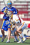 Chris Schaible (UCSB #33)  and Richie DeBeikes (USC #2)