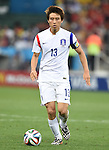 Koo Ja-Cheol (KOR),<br /> JUNE 26, 2014 - Football / Soccer :<br /> FIFA World Cup Brazil 2014 Group H match between South Korea 0-1 Belgium at Arena de Sao Paulo in Sao Paulo, Brazil. (Photo by SONG Seak-In/AFLO)