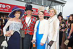 Enjoying Ladies Day at the Listowel Races on Friday were: Noreen O'Connor, Killorglin, Diane Jeffers, Tralee, Susanna Hennessy, Finuge and Chris O'Shea, Tralee