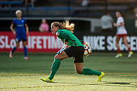 Seattle, WA - Wednesday, June 28, 2017: Alyssa Naeher during a regular season National Women's Soccer League (NWSL) match between the Seattle Reign FC and the Chicago Red Stars at Memorial Stadium.