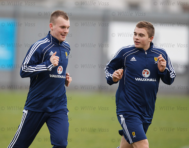 Gregg Wylde and James Forrest