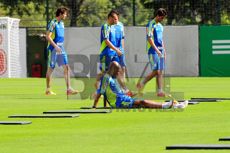 SAO PAULO, SP, 04 Janeiro 2012.Marcos Assunçao Reapresentacao do Palmeiras CT  (FOTO: ADRIANO LIMA - NEWS FREE)