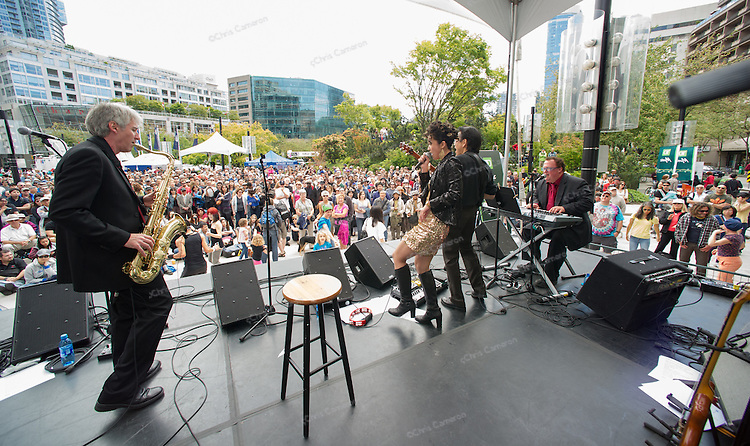 Serpentine Funk at Robson Square.