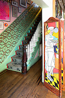 painted room divider
