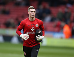 Simon Moore of Sheffield Utd during the English League One match at Bramall Lane Stadium, Sheffield. Picture date: December 31st, 2016. Pic Simon Bellis/Sportimage