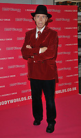 Dr Gunther von Hagens at the Bodyworlds human anatomy exhibition VIP launch, The London Pavilion, Piccadilly Institute, London, England, UK, on Thursday 04 October 2018.<br /> CAP/CAN<br /> ©CAN/Capital Pictures