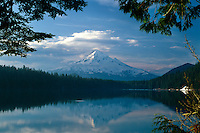 Mt. Hood from Lost Lake<br />