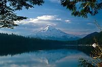 Mt. Hood from Lost Lake<br /> Mt. Hood National Forest<br /> Cascade Range<br /> Oregon