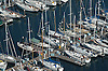 Aerial photograph of Marina outside Seattle Washington
