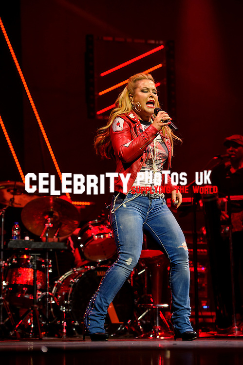 Anastacia live at the London  Palladium 2nd May 2016