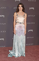 LOS ANGELES, CA - NOVEMBER 04: Charlotte Casiraghi attends the 2017 LACMA Art + Film Gala Honoring Mark Bradford and George Lucas presented by Gucci at LACMA on November 4, 2017 in Los Angeles, California.<br /> CAP/ROT/TM<br /> &copy;TM/ROT/Capital Pictures