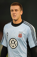 DC United goalkeeper Milos Kocic (1). Chicago Fire tied DC United 1-1 at  RFK Stadium, Saturday March 28, 2009.
