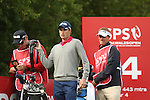 Welsh golfer Rhys Davies on the 14th tee during the first round of the ISPS Handa Wales Open 2013 at the Celtic Manor Resort<br /> <br /> 29.08.13<br /> <br /> &copy;Steve Pope-Sportingwales