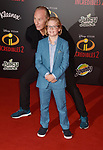 HOLLYWOOD, CA - JUNE 05: Craig T. Nelson and Huck Milner attend the premiere of Disney and Pixar's 'Incredibles 2' at the El Capitan Theatre on June 5, 2018 in Los Angeles, California.