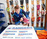 12.11.2019 Rangers RYDC youth photocall: Nathan Patterson