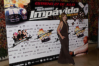 26.07.2012. Premier at Palafox Cinema in Madrid of the movie 'Impavido´, directed by Carlos Theron and starring by Marta Torne, Selu Nieto, Nacho Vidal, Carolina Bona, Julian Villagran and Manolo Solo. In the image Carolina Bona (Alterphotos/Marta Gonzalez) /NortePhoto.com <br /> <br /> **CREDITO*OBLIGATORIO** *No*Venta*A*Terceros*<br /> *No*Sale*So*third* ***No*Se*Permite*Hacer Archivo***No*Sale*So*third*©Imagenes*con derechos*de*autor©todos*reservados*.
