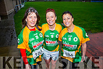 Ann Curtin, Catherine O'Sullivan and Mandy Hudson at the Kerins O'Rahilly's '1916' 10k Run on Sunday