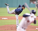 Hisashi Iwakuma (Mariners),<br /> APRIL 4, 2017 - MLB :<br /> Seattle Mariners starting pitcher Hisashi Iwakuma pitches during the Major League Baseball game against the Houston Astros at Minute Maid Park in Houston, Texas, United States. (Photo by AFLO)