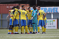 during Haringey Borough vs Herne Bay, Emirates FA Cup Football at Coles Park Stadium on 7th September 2019