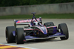 11 August 2007: Katherine Legge (XEN) at the Champ Car Generac Grand Prix at Road America, Elkahart Lake, WI.