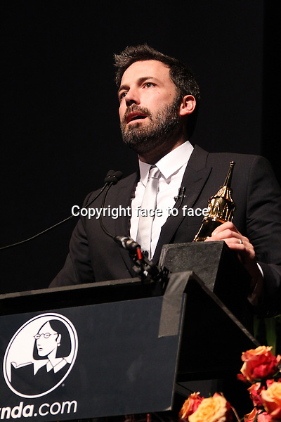 Ben Affleck attending 28th Annual Santa Barbara International Film Festival - Modern Master Award Tribute Honoring Ben_Affleck held at Arlington Theatre on January 25, 2013 in Santa Barbara, California...Credit: MediaPunch/face to face..- Germany, Austria, Switzerland, Eastern Europe, Australia, UK, USA, Taiwan, Singapore, China, Malaysia and Thailand rights only -