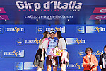 Nans Peters (FRA) AG2R La Mondial retains the young riders Maglia Bianca at the end of Stage 11 of the 2019 Giro d'Italia, running 221km from Carpi to Novi Ligure, Italy. 22nd May 2019<br /> Picture: Massimo Paolone/LaPresse | Cyclefile<br /> <br /> All photos usage must carry mandatory copyright credit (© Cyclefile | Massimo Paolone/LaPresse)