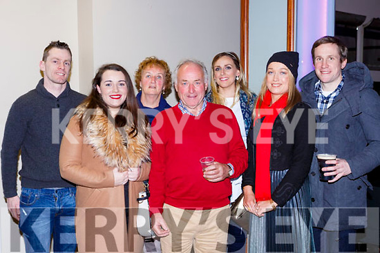 Andrew O'Sullivan, Lisa Moynihan, Catherine, Andy, Moynihan, kristine O'Sulllivan, Angela and Eddie Moynihan Killarney at the Brendan Grace show in the INEC on Saturday night