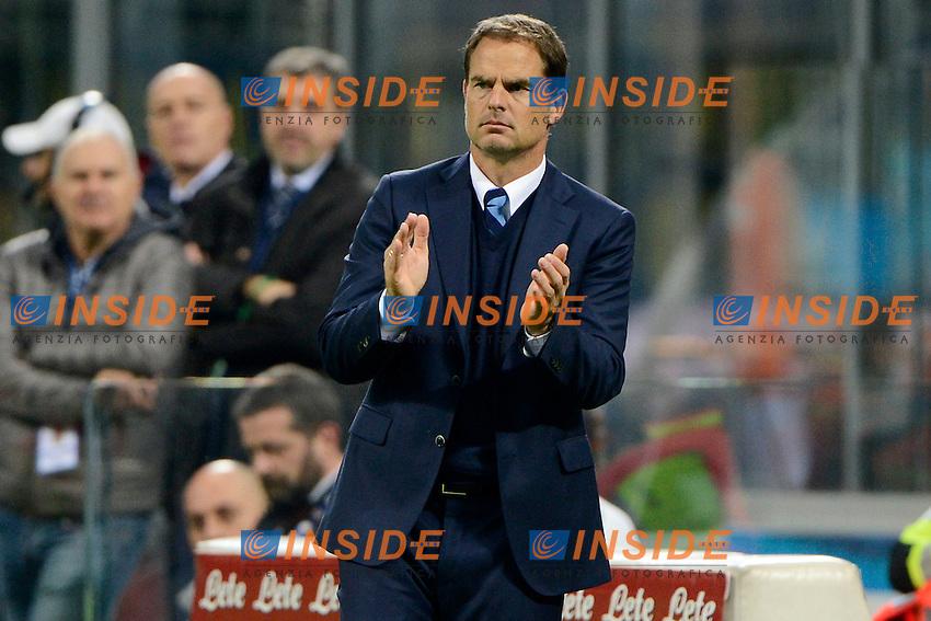 Frank De Boer allenatore Inter coach<br /> Milano 26-10-2016 Stadio Giuseppe Meazza - Football Calcio Serie A Inter - Torino. Foto Giuseppe Celeste / Insidefoto
