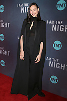 "LOS ANGELES - JAN 24:  Gal Gadot at the ""I Am The Night"" Premiere Screening at the Harmony Gold Theater on January 24, 2019 in Los Angeles, CA"