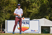 Lanto Griffin (USA) looks over his tee shot on 2 during round 4 of the 2019 Houston Open, Golf Club of Houston, Houston, Texas, USA. 10/13/2019.<br /> Picture Ken Murray / Golffile.ie<br /> <br /> All photo usage must carry mandatory copyright credit (© Golffile | Ken Murray)