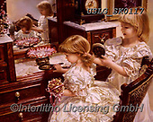 CHILDREN, KINDER, NIÑOS, paintings+++++,USLGSK0117,#K#, EVERYDAY ,Sandra Kock, victorian